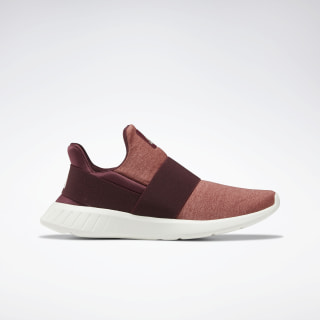 Reebok Lite Slip On Women's Shoes Maroon / ROSE / CHALK DV9689