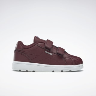 Reebok Royal Complete Clean Shoes Lux Maroon / White DV9553