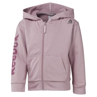 Girls Training Essentials Fullzip Hoody Infused Lilac DM5550