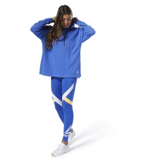 WOR Commercial Coverup Hoodie Crushed Cobalt DU4727