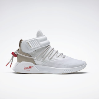 Freestyle Motion Shoes White / Modern Beige / Radiant Red EF5187