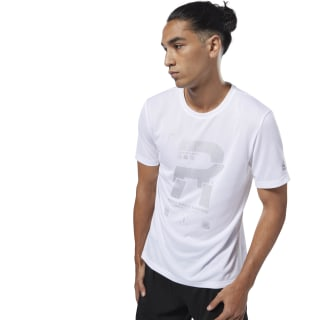 Running Reflecterend T-shirt White D92943