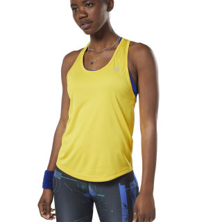 Performance Mesh Tanktop Toxic Yellow EJ3263