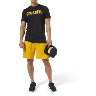 Camiseta Reebok CrossFit SpeedWick F.E.F. Camiseta Graphic Black/Semi Solar Gold DT2772