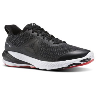 Zapatillas de Running OSR Sweet Road BLACK/COAL/WHITE/DAYGLOW RED BS8529