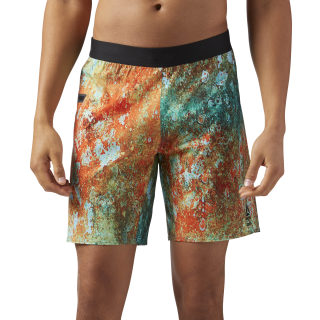 Reebok CrossFit Speed Shorts Multicolor/Turquoise CD4471