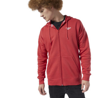 Classics International Graphic Hoodie Rebel Red / White EA3605