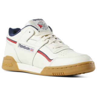 Workout Plus Classic White/Navy/Red DV4293
