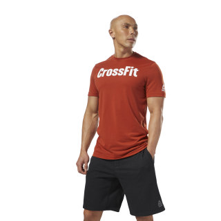 Reebok CrossFit SpeedWick F.E.F. Graphic T-Shirt Orange DH3707