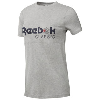 Reebok Classics Tee Medium Grey Heather BQ2524