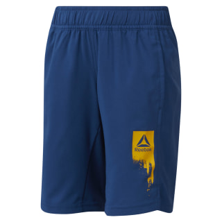 Boys' Reebok Adventure Basic Shorts Bunker Blue DH4317