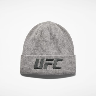 UFC Logo Beanie Medium Grey Heather EI0815