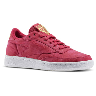 Tenis Club C 85 EH Pink Craze/Solar Yellow/White BD2008