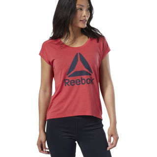 Camiseta Workout Ready Supremium 2.0 Rebel Red EJ9359