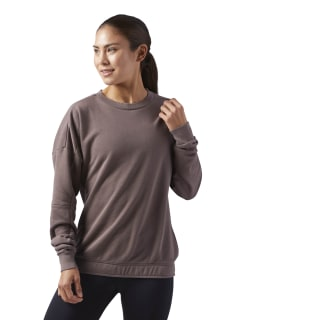 Sweat à col rond Elements Brown/Smoky Taupe CF8634