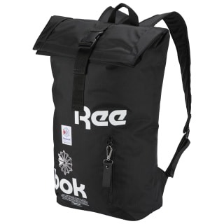 Classic Fold-Top Backpack Black CW5011