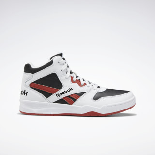 BB 4500 Court Shoes - Preschool White / Black / Legacy Red EH3012