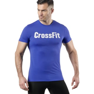Reebok CrossFit Speedwick F.E.F. Graphic Tee Crushed Cobalt DZ7570