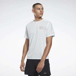 One Series Running Reflective Move Tee Glass Blue FL0118