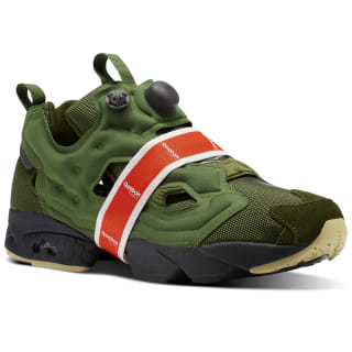 Кроссовки INSTAPUMP FURY Money Pack WILD GREEN/COAL/ASH GRY/WHT/BRGHT LAVA/DUST BS9729