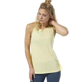 LES MILLS® Supremium Tank Top Filtered Yellow DV2708
