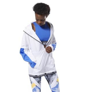 Chaqueta WOR Meet You There Woven White DP6695