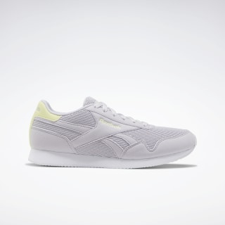 Reebok Royal Classic Jogger 3.0 Shoes Sterling Grey / Lemon Glow / White EF7720