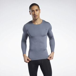 T-shirt Workout Ready Compression Cold Grey 6 FP9106