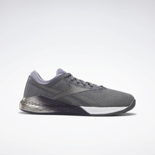 Reebok Nano 9 Women's Training Shoes Cold Grey 6 / Violet Haze / White FU7572