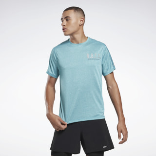 Playera Move reflectante One Series Running Seaport Teal FL0116