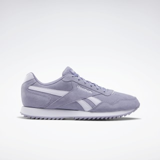 Reebok Royal Glide Ripple Shoes Violet Haze / Lilac Frost / Lilac Frost EF7618