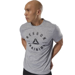 GS Training Speedwick Tee Medium Grey Heather DH3744
