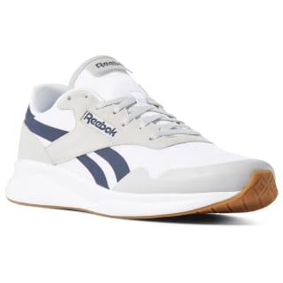 Tênis U Reebok Royal Ultr Edge skull grey / white / collegiate navy / gum CN7386