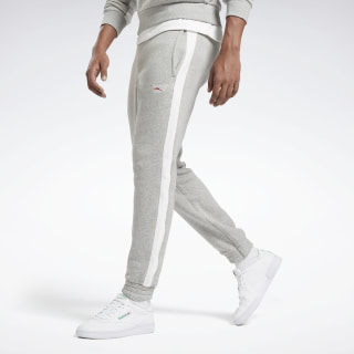 Pantalón de chándal Panel Jogger Medium Grey Heather / White FT1868