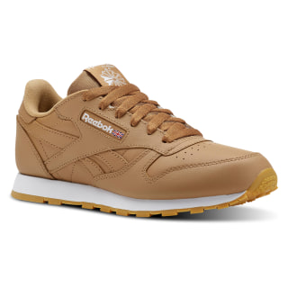 Classic Leather Gum-Soft Camel/White CN5610