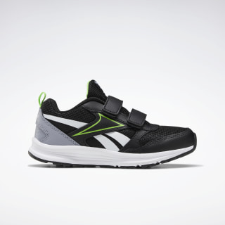 Reebok Almotio 5.0 Schoenen Black / Cool Shadow / Solar Green EF3330