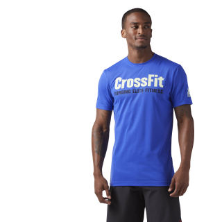 Reebok CrossFit Speedwick F.E.F. Graphic Tee Acid Blue CF4545