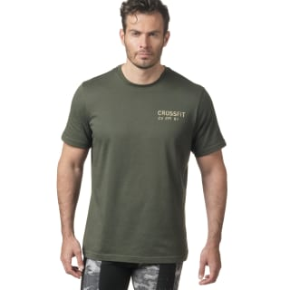 Reebok CrossFit Mess You Up T-Shirt Brown DH3688