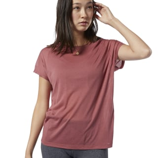 One Series Burnout Tee Rose Dust EC1173