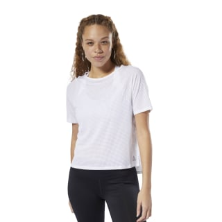 T-shirt perforé White DP5655