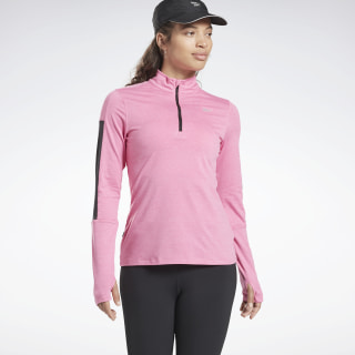 Running Essentials Quarter-Zip Posh Pink FK6504