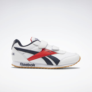 Reebok Royal Classic Jogger 2.0 Shoes White / Collegiate Navy / Radiant Red EH1791