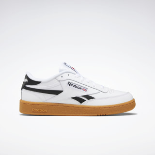 Club C Revenge Shoes White / Black / Reebok Rubber Gum-06 EG9243