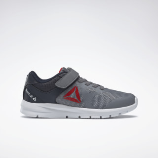 Reebok Rush Runner Shoes Grey / Navy / Red / White DV8723