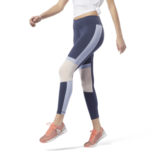 Meet You There Panelled Tights Heritage Navy / Denim Dust FN3317