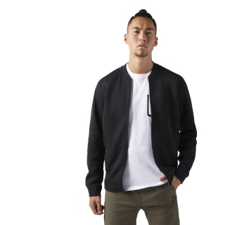Training Supply Varsity Jacket Black CV8196