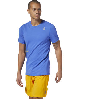T-shirt en mesh Reebok CrossFit® Move Crushed Cobalt DP4585