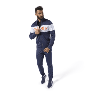 Cuffed Tricot Tracksuit Heritage Navy / White FP8152