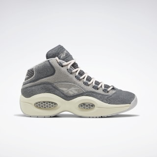 Question Mid Men's Basketball Shoes Cold Grey 6 / Mgh Solid Grey / Steel FW0875