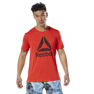 WOR Graphic Tech Tee Canton Red DU2198